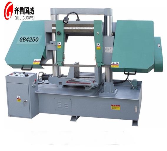 GB4250龙门式双柱带锯床| 50金属带锯床价格
