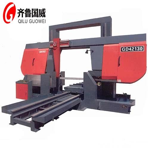 GB42130龙门式金属带锯床| 大型液压龙门锯床