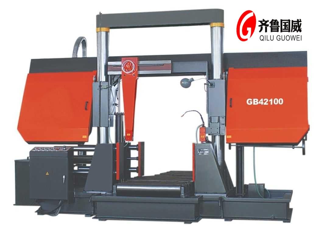 GB42100龙门式金属带锯床| 大型龙门锯床价格